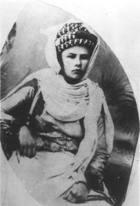 Ritratto di Isabelle Eberhadt a Tunisi, 1897